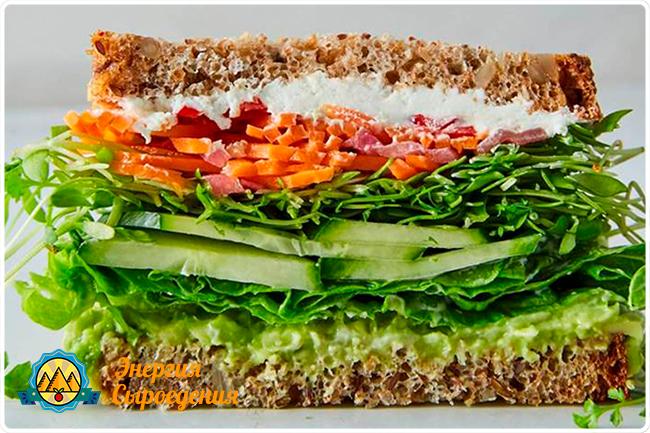 веганские бутерброды