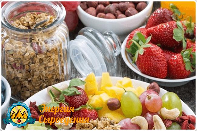 сухофрукты и ягоды