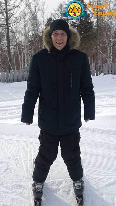 буянов олег на лыжах