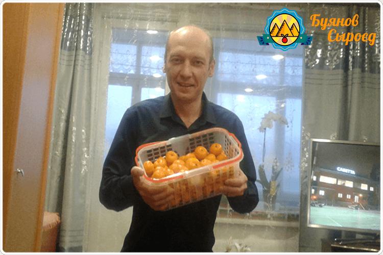 буянов олег с мандаринами